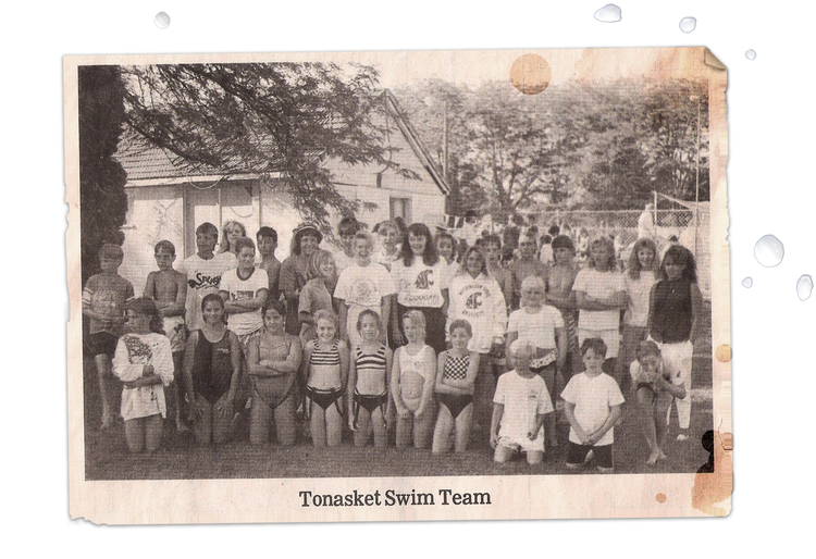 Tonasket Swim Team 1984
